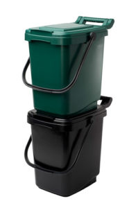 EcoSafe EcoCaddy Compost Bin Stacked