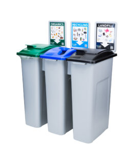 EcoSafe EcoStation Zero Waste Bins Source Separation