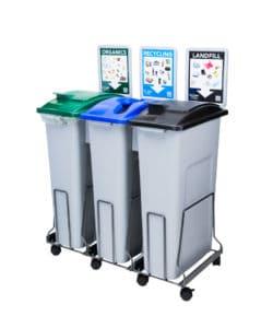 EcoSafe EcoStation Zero Waste Bins