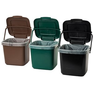 EcoSafe Kitchen Caddy Compost Bin
