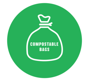 EcoSafe 6400 compostable bags