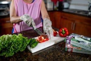 Ecosafe Green   Zero waste - chopping vegetables