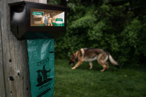 Ecosafe Green | Zero waste - dog waste bag and dog