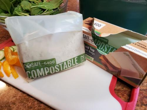 Compostable Fold Top Bags